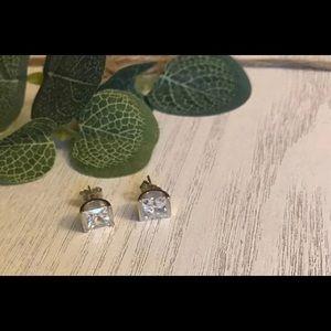 New Diamonique SS Earrings